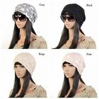 Unisex Women Hip-hop Star Baggy Beanie Double Use Cotton Blend Slouch Hats Caps