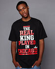 HIGHSHINE T-SHIRT THE REAL KING JORDAN BULLS NBA NEU BASKETBALL COMME DES ASAP