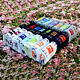 7 Days Of The Week Hot Candy Color 7 Pairs Included Mens Cotton Week Ankle Socks