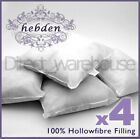 Pack of 4 Oblong Rectangular Cushion Pad Inserts Fillers