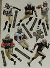 "New Orleans Saints Mini FATHEAD Player NFL Vinyl Wall Graphic 7"" - PICK ONE"