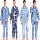 MENS WINTER WARM FLANNEL PYJAMAS BRUSHED PURE 100% COTTON