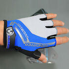 Blue New Practical Professional Cycling Bike Bicycle Half Finger Glove S/M/L/XL