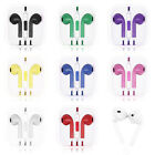.3.5mm Earphone Earbuds Headset HeadPhone w/ Remote Mic for iPhone 5 5S 5C 4G 4S