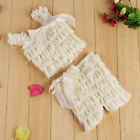 Newborn Infant Baby Girl Lace Posh Petti Ruffle Rompers S M L with strap