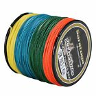 Super Strong  8Strands Braided Dyneema Sea Fishing Line Agepoch 100M 5Colors