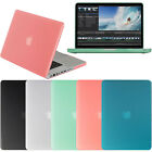 "Matte Frosted Hard Cover Case Skin for Apple Macbook Pro 15 15"" A1286 NEW Colors"