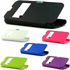 Color Case Open Front Wallet Hard Cover for Samsung Galaxy S4 Active i537 Phone