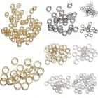 Wolesale 50/100g Silver Gold Open Split Jump Rings Connectors Jewellery Findings