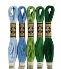 DMC Embroidery Floss - Colors 910 -  971 Choice