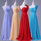 Womens Vintage Sexy Chiffon Long Maxi Princess Evening Prom Formal Party Dresses