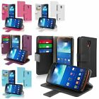 Leather ID/Credit Card Wallet Book Flip Case For Samsung Galaxy S4 Active i9295