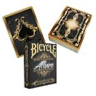 Bicycle Allure Deck - Poker Sized Bicycle Cards - Choice of Colours