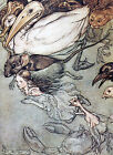 Arthur Rackham ALICE IN WONDERLAND Ref 02 PRINT A4 or A5 Size Unframed