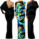 MULTI WAY RESORT Reversible PLUNGING Convertible MAXI DRESS Off Shoulder CRUISE
