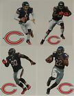 "Chicago Bears Mini FATHEAD Official NFL Vinyl Wall Graphic Decal 7"" PICK ONE"