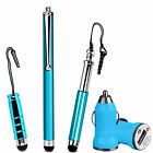 Universal USB Car Charger Adapter & Stylus Pen Gift Pack For Various Phones