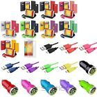 Card Wallet Leather Case+Cord+2A Car DC Charger For Samsung Galaxy Note 3 N9000