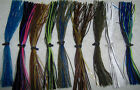 5 KALIN'S BASS STALKER JIG/ SPINNERBAIT BIO-FLEX SILCONE SKIRTS CHOICE OF COLOR