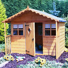 Shire Cubby  Wooden Playhouse -  Wendy Play House Childrens Kids Den 6'x4' x1'6""