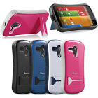 For Motorola Moto G Cell Phone Case Hybrid Hard Tough Cover Skin with Stand New