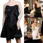 Women Sexy Korean Bow knot StraplessTube Dress Club Party Evening Dress Robe