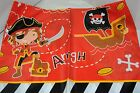 'Pieces of eight' pirate theme party birthday bags table covers banners balloons