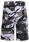 shorts city camo longer length bdu military style camouflage mens rothco 7769