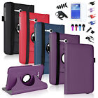 """360 Case Folio Leather Cover Stand for Samsung Galaxy Tab 3 Lite 7 7.0""""+Film/Pen"""
