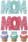 12 Mom Cupcake Picks or  MoM Cake Topper  Mothers Mother's Day