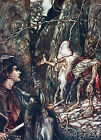 Arthur Rackham THE BROTHERS GRIMM Ref 08 PRINT A4 or A5 Size Unframed