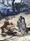 Arthur Rackham THE BROTHERS GRIMM Ref 09 PRINT A4 or A5 Size Unframed