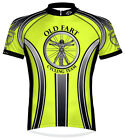 Primal Wear Old Fart Cycling Jersey HiViz Men's Short Sleeve with DeFeet Socks