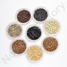 200 400 1000 Copper Nano Rings Beads for use with Remy Nano Hair Extensions