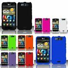 For LG Connect 4G MS840/Viper 4G LS840 Rubberized Hard Case Cover