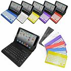 "Wireless Bluetooth Keyboard Leather Case Cover For iPad mini Retina 7.9"" Tablet"