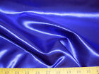 Discount Fabric Satin Royal Blue 65 inches wide 24SA