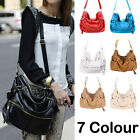 Top Quality Handbag Shoulder Bag Tote Purse Fashion PU Leather Messenger Hobo
