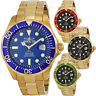 Invicta Pro Diver 18k Gold Ion-plated Stainless Steel Mens Watch