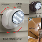 Motion Activated Cordless Sensor LED Light Indoor Outdoor Garden Patio Wall Shed