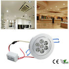 6/60X Recessed 3w 7w 12W LED White Mask Ceiling Wall Down Spot Lights Downlight