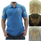 Christian Audigier Grenade Men's Polo Shirt Premium Cotton Ed Hardy