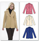 SEWING PATTERN Butterick B5531 Misses Lined TOP STITCHED FASHION JACKETS BLAZERS