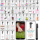 For LG G2 VS980 Verizon Beautiful Design HARD Case Phone Cover Accessory + Pen