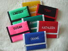 Personalised Named Tri Fold Wallet / Purse Selected Names S to V