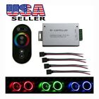 Wireless Remote Control Set For Car RGB LED Angel Eyes, Underbody Lights, Strips
