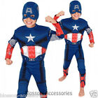 CK154 Captain America Premium The Avengers Boys Book Week Kids Halloween Costume
