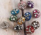 20pc Beaded Shank Sew - on Buttons Scrapbooking J0719