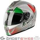 NITRO NGFP ITALY FULL FACE MOTORBIKE MOTORCYCLE RACING CRASH HELMET