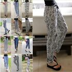 Elegant Women Korean Stretchy Loose New Fashion Casual Female Pants Trousers LA